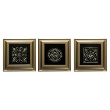 obraz-przestrzenny-tryptyk-noble-gold
