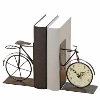 podporki-do-ksiazek-rower-z-zegarkiem