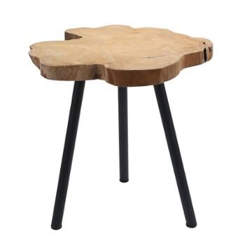 stolik-kawowy-z-drewna-tekowego-35-45-cm