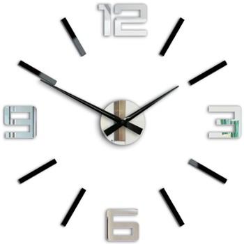 zegar-silver-lustrzano-czarny-60-cm